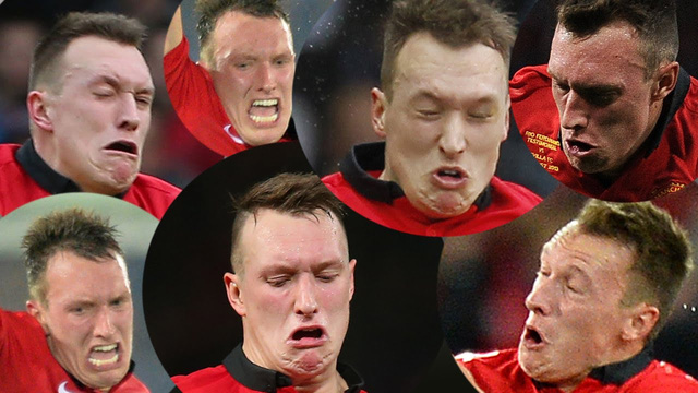 Manchester United, Phil Jones, De Gea